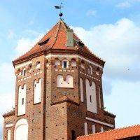 Белоруссия. Мирский замок. Угловая башня. :: Наталья Лунева
