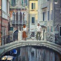 Где то в Венеции..двое влюблённых, друг другу шептали-Люблю :: Лана Назарова