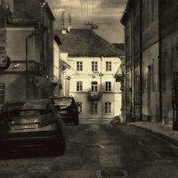 Ранним утром где-то в Вильнюсе... :: Глeб ПЛATOB