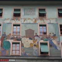 Швейцария Люцерн- город разрисованных домов :: Swetlana V
