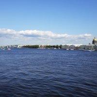 Невские берега. :: Жанна Викторовна