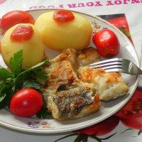 Про рыбный день - четверг.... :: Андрей Заломленков