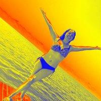 Солнце воздух и вода,наши лучшие друзья...начни день с плаванья,с прекрасными подругами спорта... :: Хлопонин Андрей Хлопонин Андрей