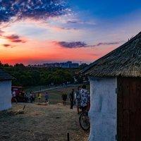 В нашей деревне вечер :: Валерьян