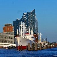 Hamburg. Elbphilarmonie & CAP SAN DIEGO :: Nina Yudicheva