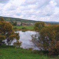 Осень у реки. :: Вера Литвинова