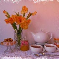 Чай вдвоём :: Nina Yudicheva