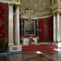 Тронный зал Зимнего дворца :: Нина Синица