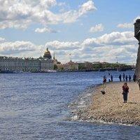 У стен Петропавловской крепости :: Нина Синица