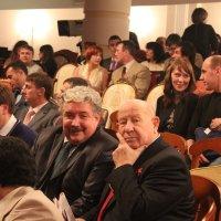 Политик Бабурин и космонавт Леонов :: Валерий