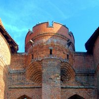 Мостовые ворота замка Мальборк :: Сергей Карачин