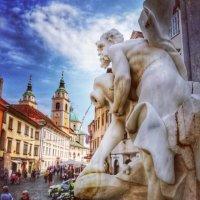 По тихим улочкам Любляны :: Лана Назарова