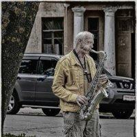 Одинокий музыкант. :: Виктор Грузнов