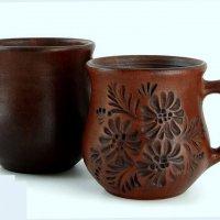 Глиняные чашки :: dindin