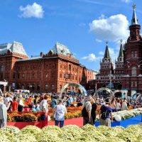 Цветочный джем на Манеже... :: Анатолий Колосов