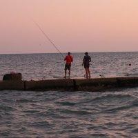 Рыбаки... :: Андрей Кобриков