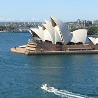 Сиднейский оперный театр в Сиднее :: olgadon Довженко