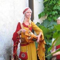 Средневековая девушка :: Vyacheslav Gordeev