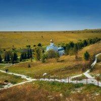 Костома́ровский Спасский монастырь :: Владимир Дальский