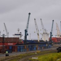 Порт Дудинки :: Витас Бенета