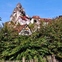 Tüchersfeld - это деревня в долине Пюттлах в Франконской Швейцарии :: backareva.irina Бакарева