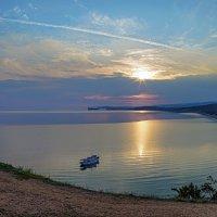 Утро в Сарайском заливе. Байкал. Остров Ольхон. :: Alex