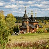 Церковь Всех Святых, в земле Сибирской просиявших. :: Наталья