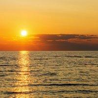 Закат. Чудское озеро :: Виктор Желенговский