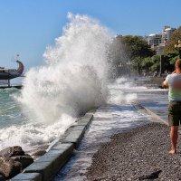 В Ялте штормит :: Nina Karyuk