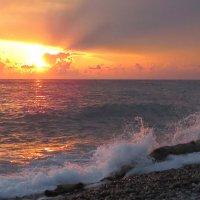 Красота вечернего моря :: Ната Волга