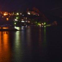 Лунная ночь в Гурзуфе :: Игорь Кузьмин