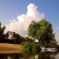 Тихое место на реке... :: Лидия Бараблина