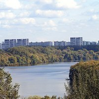 Вид на Москву с Коломенского. :: Владимир Драгунский