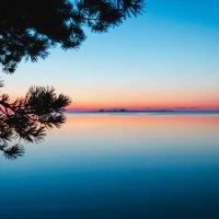 рассвет на Ладожском озере :: Ярослав Козырев