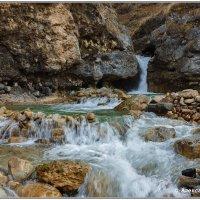 водопад реке Гедмишх :: Александр Богатырёв