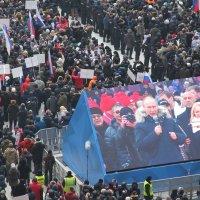 В. Путин на стадионе :: Валерий