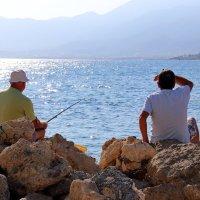 Рыбалка в контровом свете...) :: Любовь С.