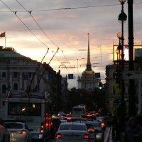 Закат над Невским . :: Татьяна