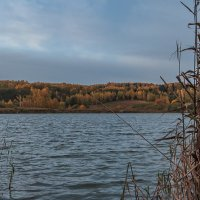 Осень на Якушевском озере :: Сергей Цветков