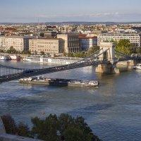 Будапешт... Голубой Дунай... Цепной мост Сечени... :: Владимир Новиков