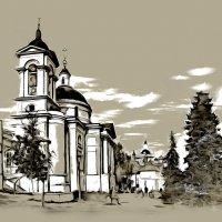 Москва. Храм великомученицы Варвары. :: В и т а л и й .... Л а б з о'в