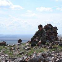 Степняк-мусульманен на Святой горе Ботакара. :: Андрей Хлопонин