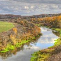 Осенний пейзаж с рекой :: Константин