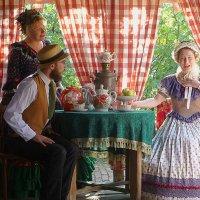 Сценка сватовства в музее Коломны :: Лидия Бусурина