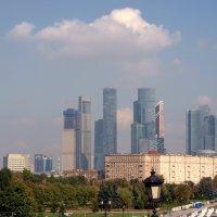 Вид на Москва - Сити с Парка Победы. :: Владимир Драгунский