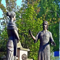 Иисус и самаритянка :: Татьяна Ларионова