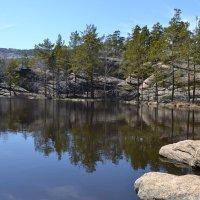 У озера,в горах Каркаралы. :: Хлопонин Андрей Хлопонин Андрей