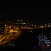 Ночная Москва :: Sergey Sapozhnikov
