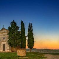 Kapelle Madonna di Vitaleta :: Konstantin Rohn