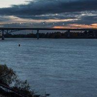 Мост.Осенний закат. :: Виктор Евстратов